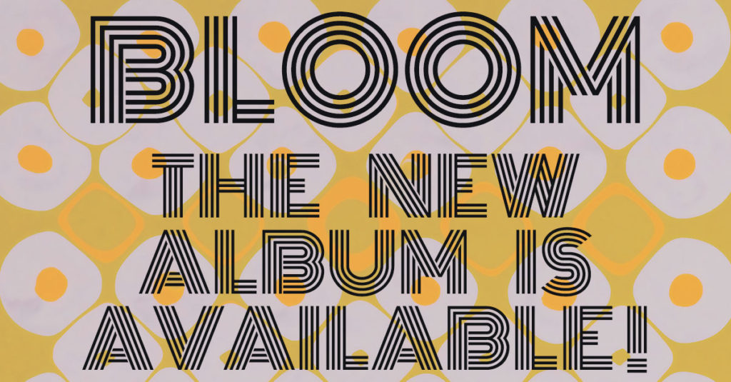 bloom the new album is available
