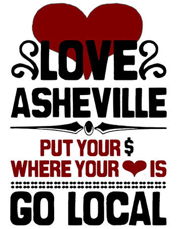 Love Asheville Go Local
