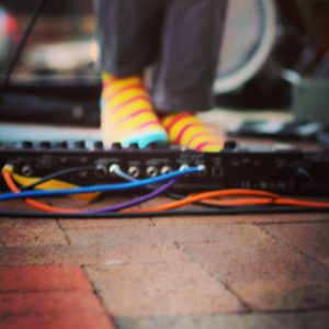 Musical Socks & Musical Pedals - Photo by Erin Derham of PBS and History Boutique