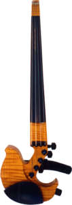 John Jordan Quilted Maple Electric Violin